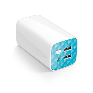 TP-Link 10400mAh power bank with 2 USB/2A build in flashlight