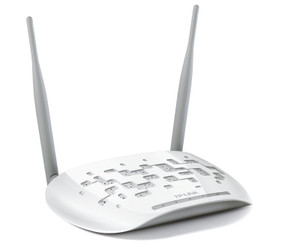TP-Link 300Mbps Wireless N Access Point w/ Passive PoE, AP/Client/Bridge/Repeater Detachable 2T2R