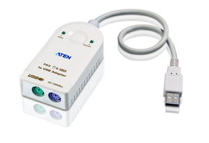 Aten USB to PS2 Active Converter (USB - 2xMD6F)