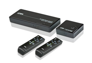 Aten VanCryst 5x2 Wireless HDMI Extender (up to 30m & 1080p) - 4x HDMI, 1x Component