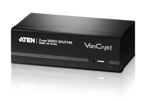 Aten 2 Port Video Splitter 450Mhz 2048x1536@60Hz Up to 65m