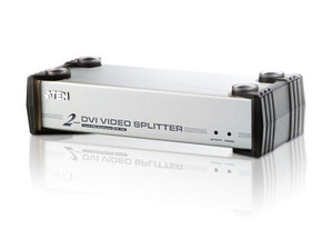 Aten 2 Port DVI Video Splitter w/ Audio - 1920x1200@60Hz