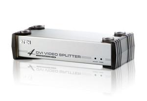 Aten 4 Port DVI Video Splitter w/ Audio - 1920x1200@60Hz