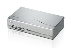 Aten 4 Port Video Splitter 250Mhz 1920x1440@60Hz Up to 65m
