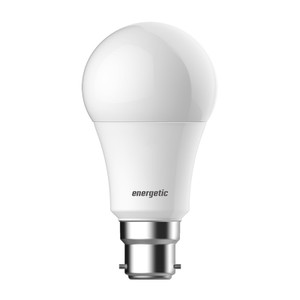 Energetic A60 B22 6.5W (470lm) Warm White LED Bulb