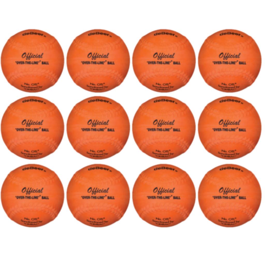 """OTL 12"""" Softball Over-the-Line OMBAC Official Ball (Dozen / 12-pack)"""