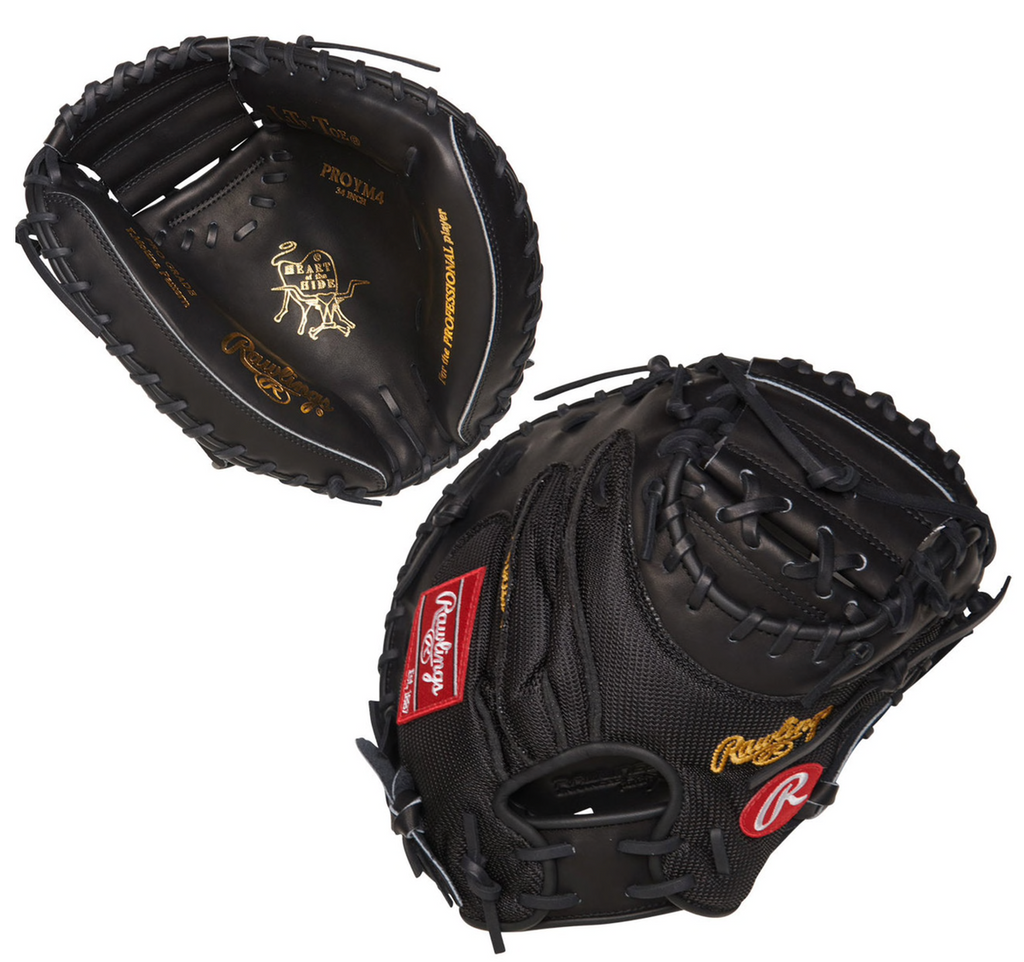 "RAWLINGS HEART OF THE HIDE CATCHERS MITT – PROYM4 34"" RHT Baseball"