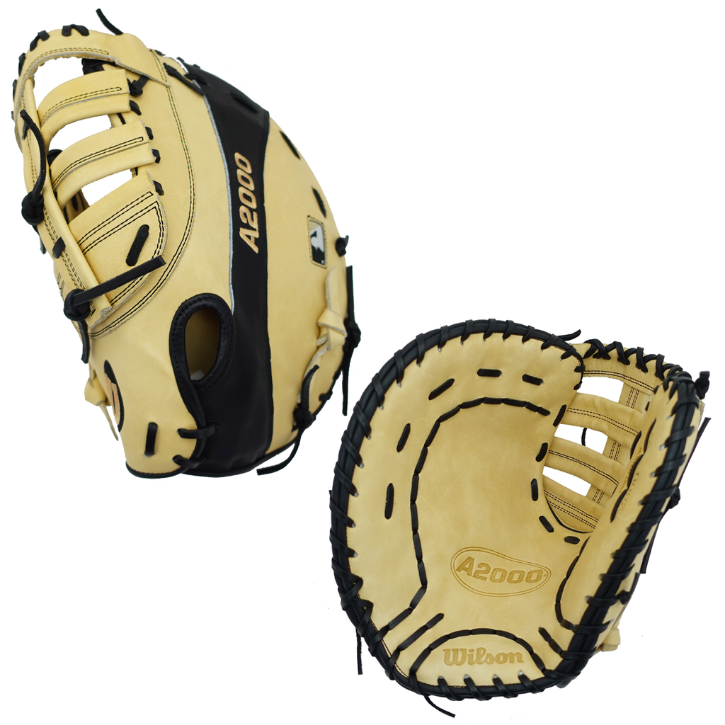 "WILSON A2000 - WTA20LB192800 - 12.00"" LHT BASEBALL FIRST BASE MITT"