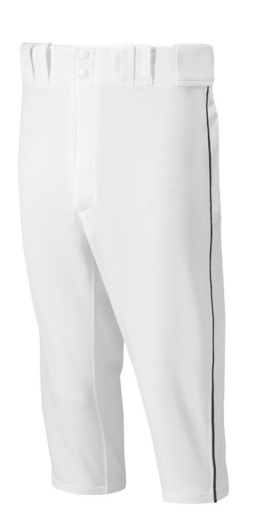 Mizuno Short Pants - White W/ BLACK, NAVY, ROYAL, SCARLET