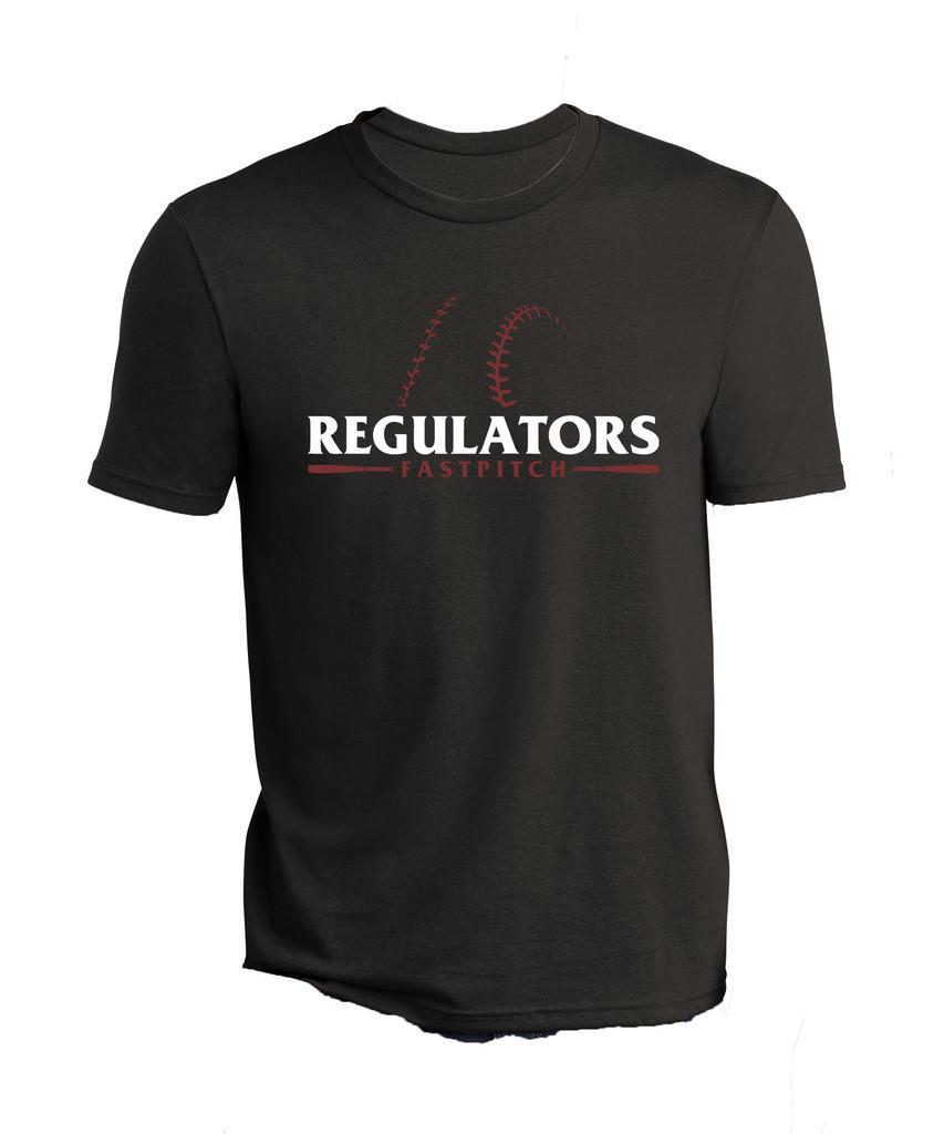 Regulators Cotton Team Shirt - Black