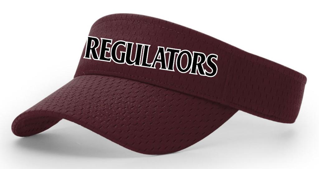 Regulators Visor - Maroon