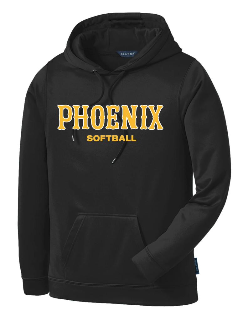 Phoenix softball dri-fit hoodie San Diego