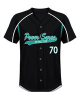 Power Surge button up jersey