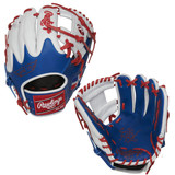 """RAWLINGS HEART OF THE HIDE – PRO204W-2DR - 11.50"""" RHT BASEBALL GLOVE - DOMINICAN REPUBLIC EDITION"""