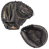 "ALL-STAR PRO-ELITE - CM3000SBK - 33.50"" RHT BASEBALL CATCHERS MITT"
