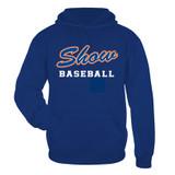 Show dri-fit hoodie royal