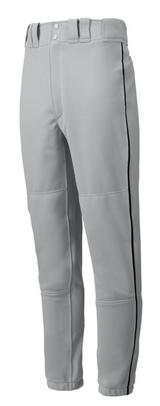 Mizuno Elastic Bottom Pants - Grey w/ Black, Navy, Royal, Scarlet