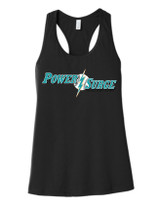 Power Surge Ladies  Racerback Tank Top