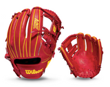 "WILSON A2K - WBW100234115 - 11.50"" RHT BASEBALL GLOVE - OZZIE ALBIES GAME MODEL"