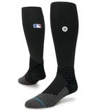 STANCE DIAMOND PRO OTC - BLACK - MLB ON-FIELD SOCKS