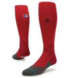 STANCE DIAMOND PRO OTC - RED- MLB ON-FIELD SOCKS