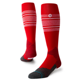 STANCE DIAMOND PRO STRIPE OTC - RED W/ WHITE STRIPE
