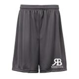 RB Warriors Shorts Charcoal