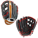 "WILSON A2K - WBW1000701275 - 12.75"" LHT BASEBALL GLOVE - SUPERSKIN™"