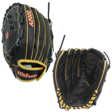 "WILSON A2000 - WBW100223125 - 12.50"" LHT FASTPITCH GLOVE - SPIN CONTROL"