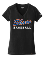Show Womens Fit V Neck Tee