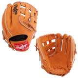"RAWLINGS HEART OF THE HIDE - PRO206-6 - 12.00"" RHT BASEBALL GLOVE - TAN"