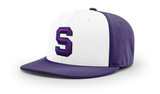 SBA Flexfit Cap  - White/Purple