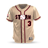 WC Storm Game Jersey  - Cream