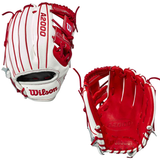 """WILSON A2000 - WBW1000302115 - 11.50"""" RHT BASEBALL GLOVE - SUPERSKIN ™ - COUNTRY PRIDE -JAPAN"""