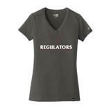 Regulators Ladies V-Neck - Charcoal