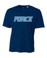 San Diego Force Navy baseball jersey