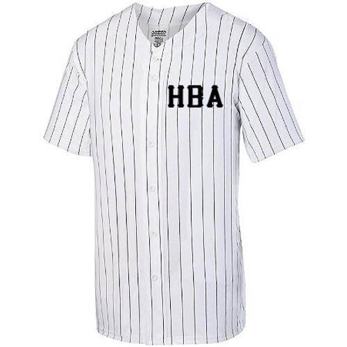HBA Travel baseball Pinstripe Jersey