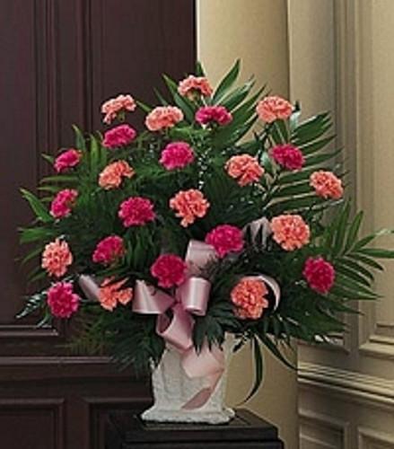 Classic Carnation Paper Mache