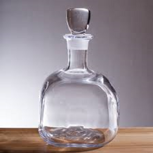 Woodbury Glass Decanter