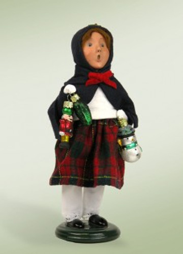 Girl with Ornament