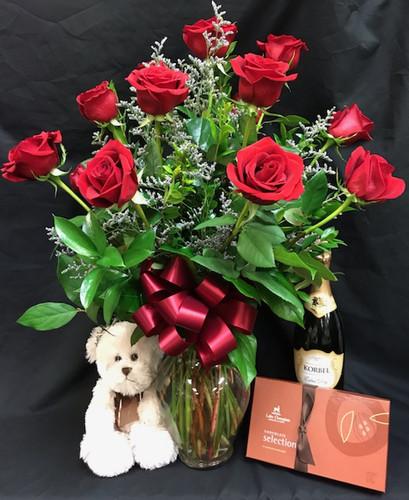 Red Rose Premium Special Occasion Bundle
