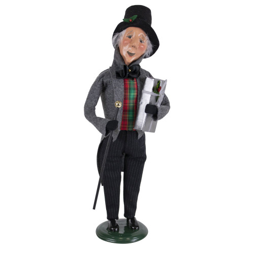 Byers Choice Happy Scrooge
