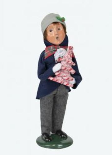 Byers Choice Lewis Boy Shopper
