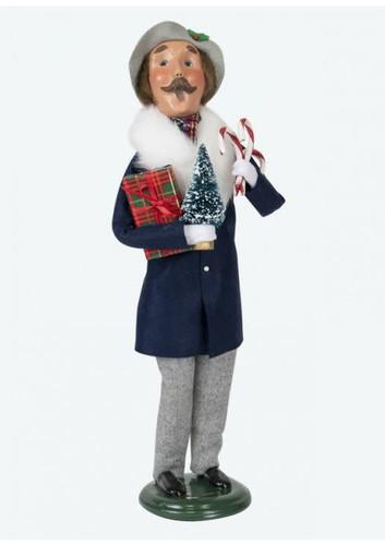 Byers Choice Lewis Shopper Man