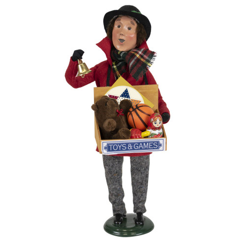Byers Choice Toy Vendor