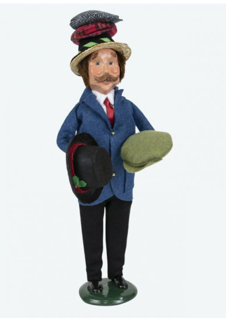 Byers Choice Hat Peddler