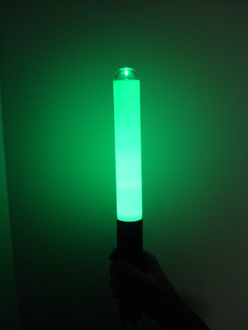 "GB100-G-G: Glow Baton® ""Glow Only"" Green"