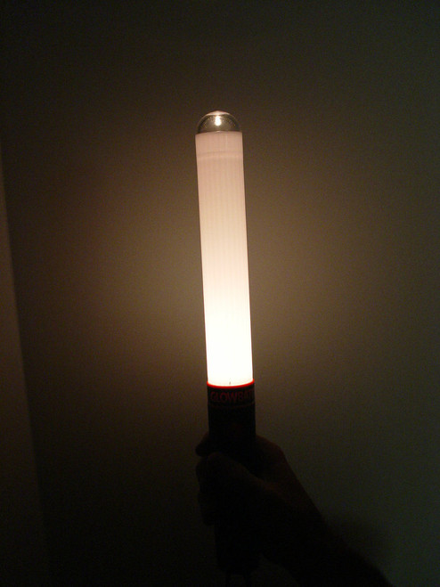 "GB100-G-A: Glow Baton® ""Glow Only"" Amber"