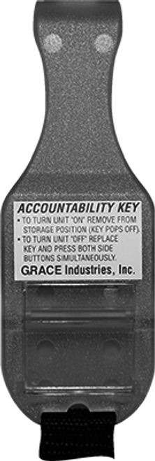 AKS2T3: Accountability Key TPASS®3 (9 Volt)