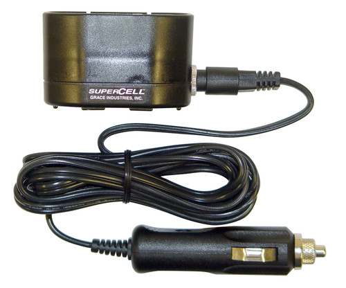 SC500SBC-DC: SC500 Battery Charger Single Unit with Charger base and DC Power Adapter.